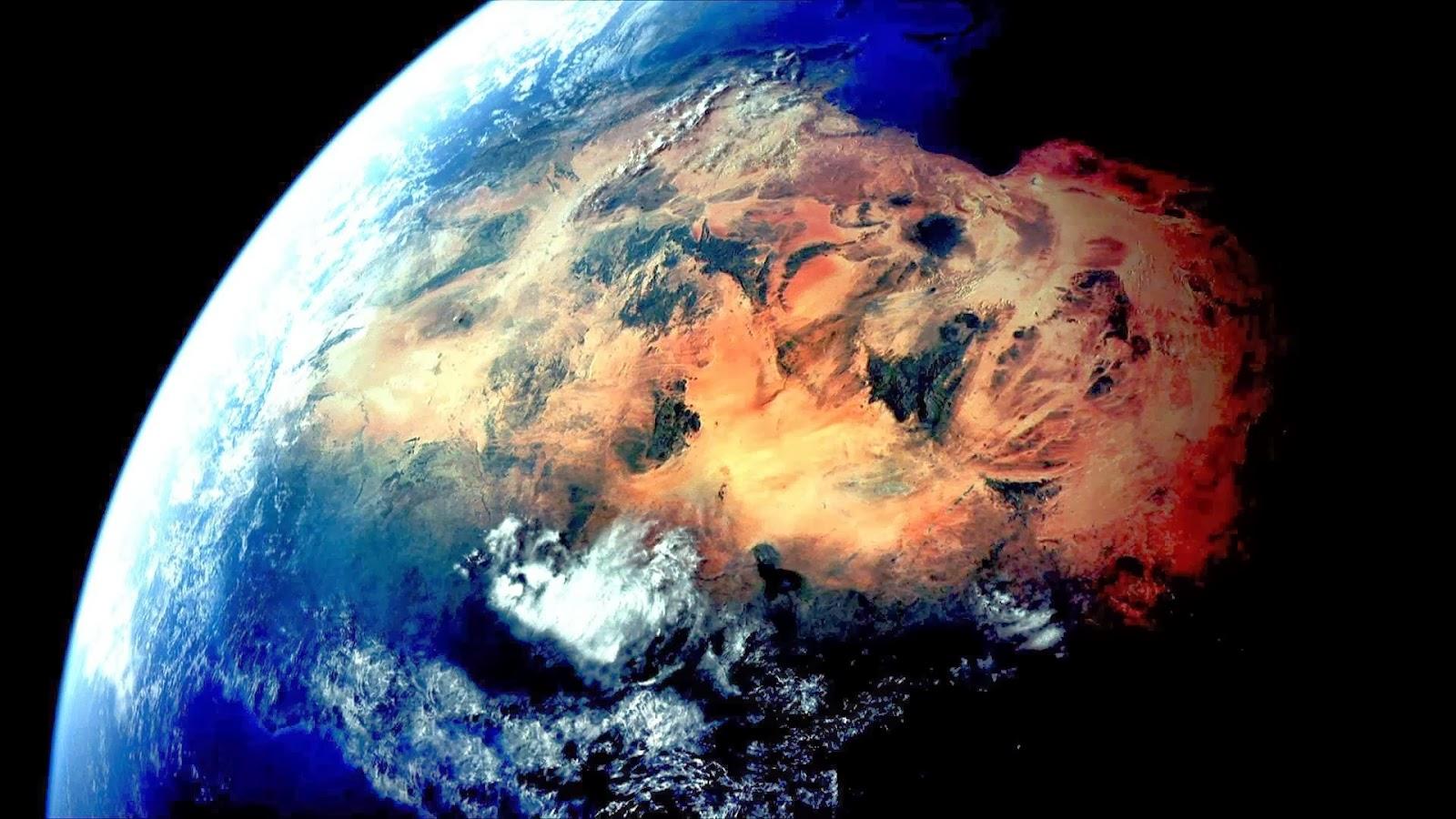 Ảnh Trái Đất khi nhìn từ vũ trụ