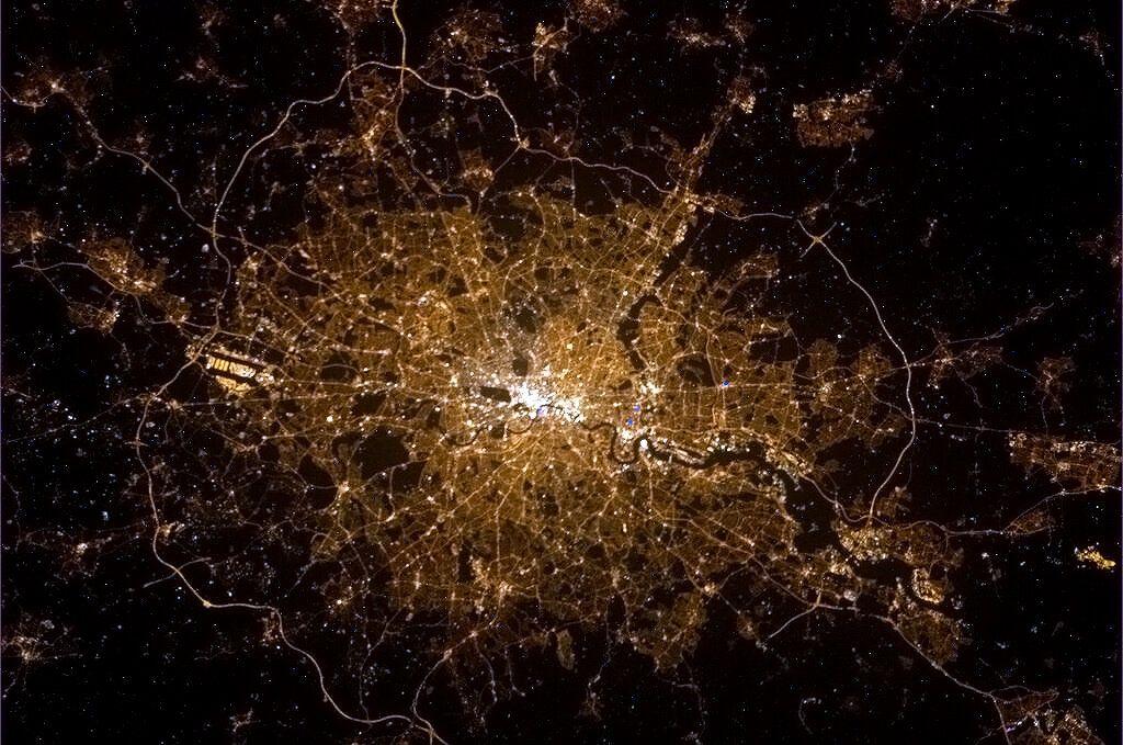 Hình ảnh Trái Đất nhìn từ trạm vũ trụ quốc tế