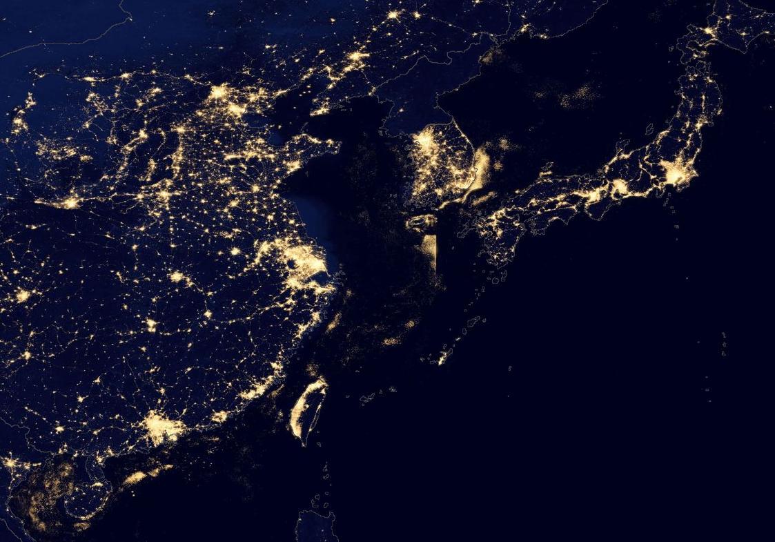 Hình ảnh Trái Đất nhìn từ vệ tinh