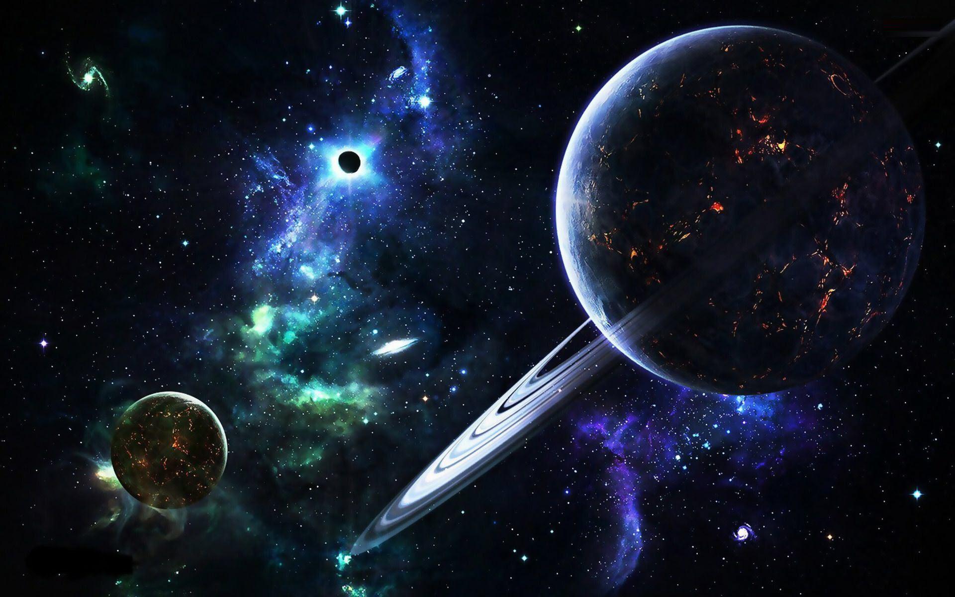 Hình ảnh Trái Đất và dải thiên hà