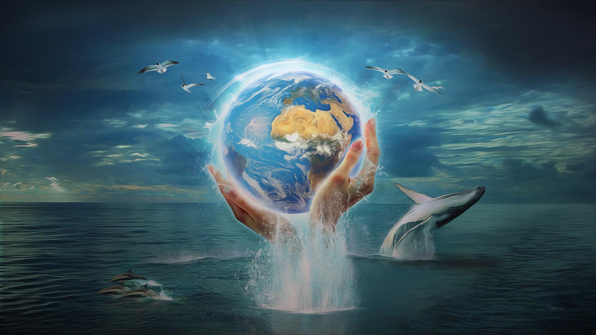 Hình vẽ Trái Đất đẹp nhất