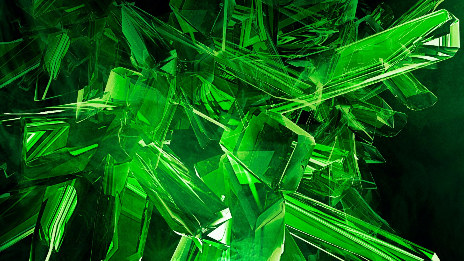 Desktop Wallpaper Neon Green