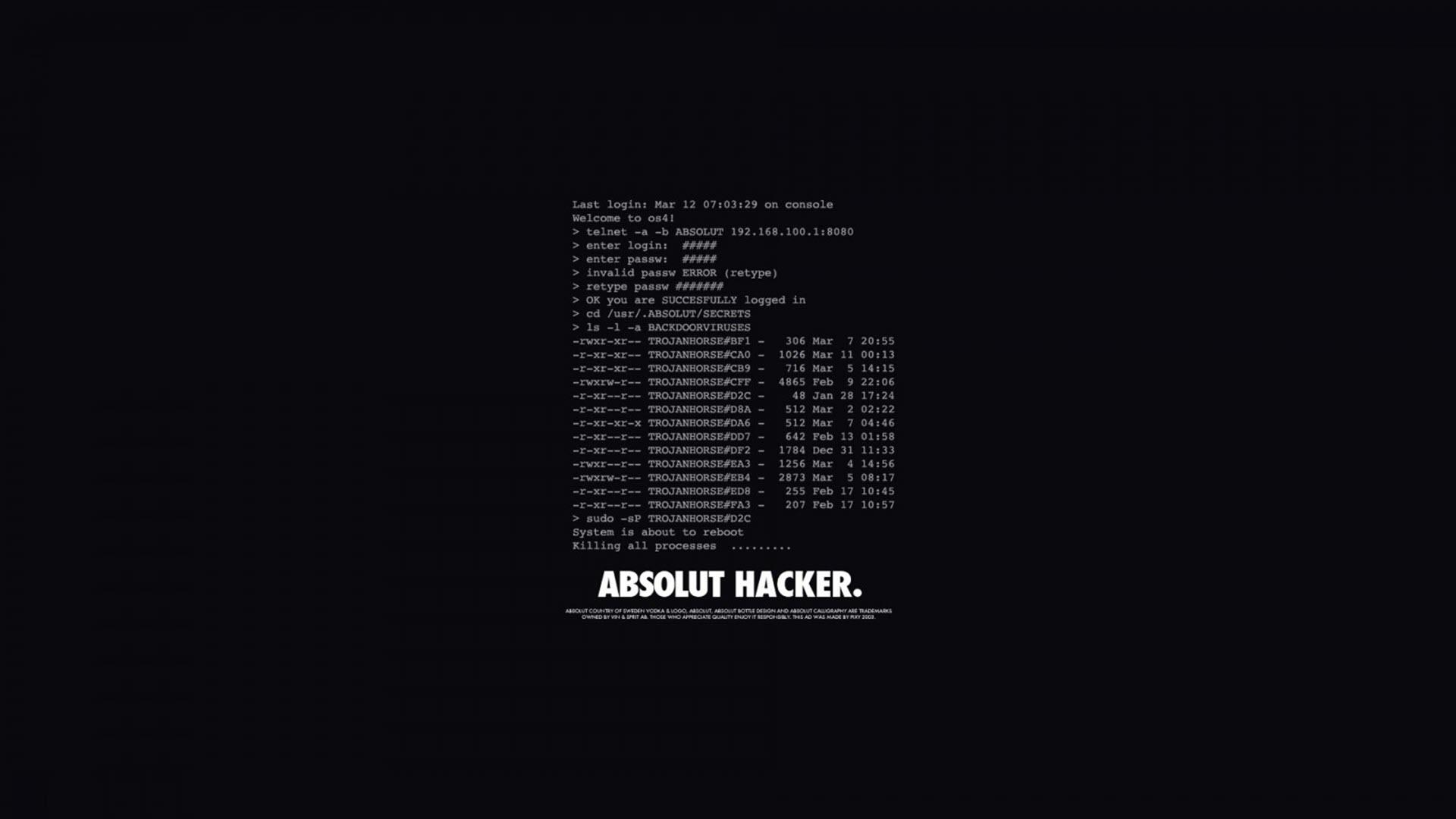 Hình nền của hacker