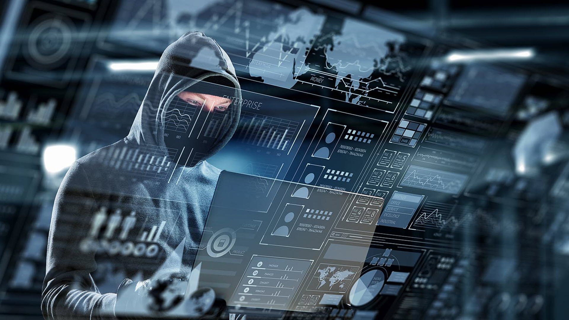 Hình nền hacker mũ đen