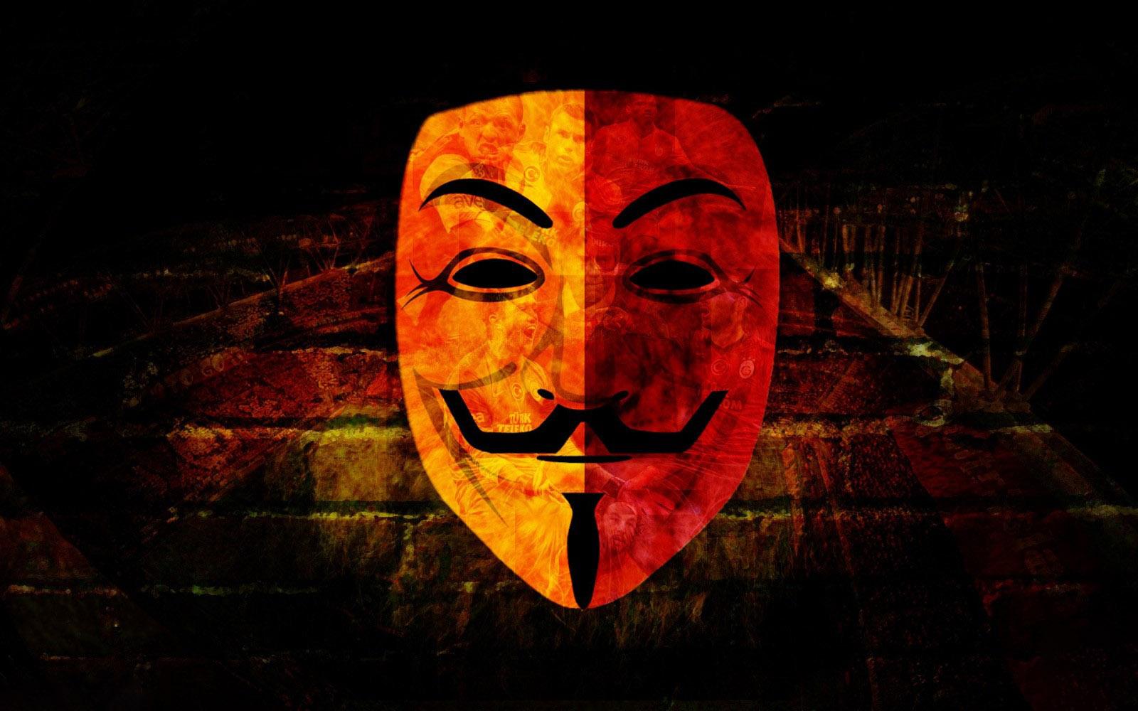 Hình nền mặt nạ Hacker