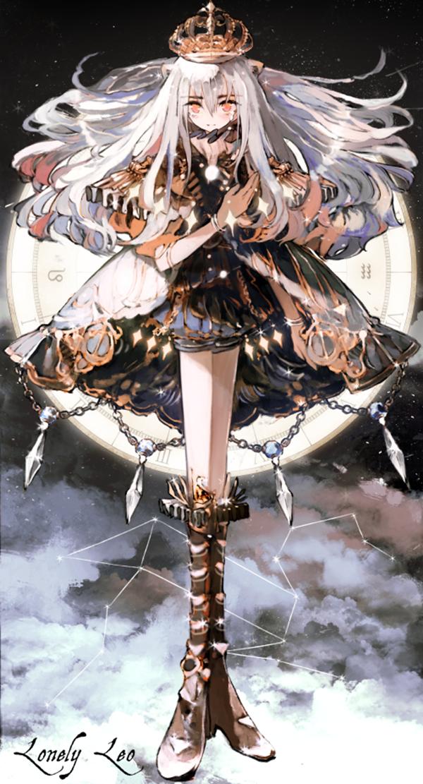 Ảnh anime 12 cung hoàng đạo cung Sư Tử