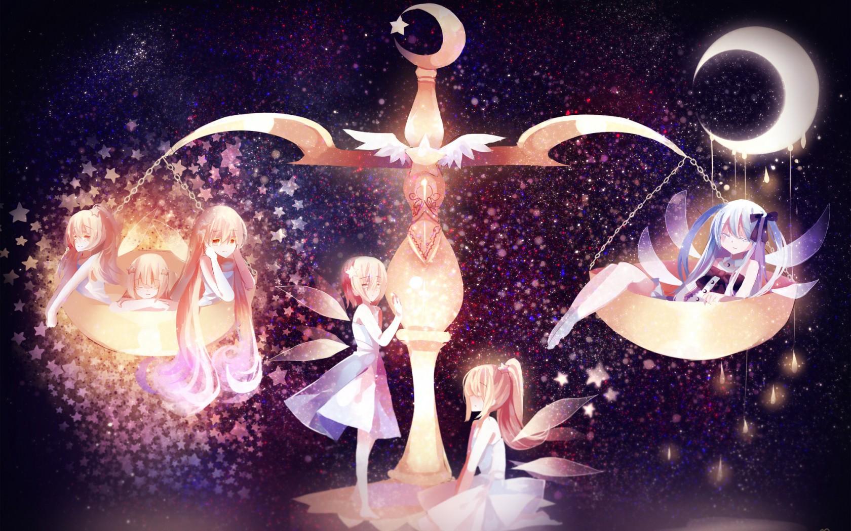 Ảnh anime 12 cung hoàng đạo cung Thiên Bình