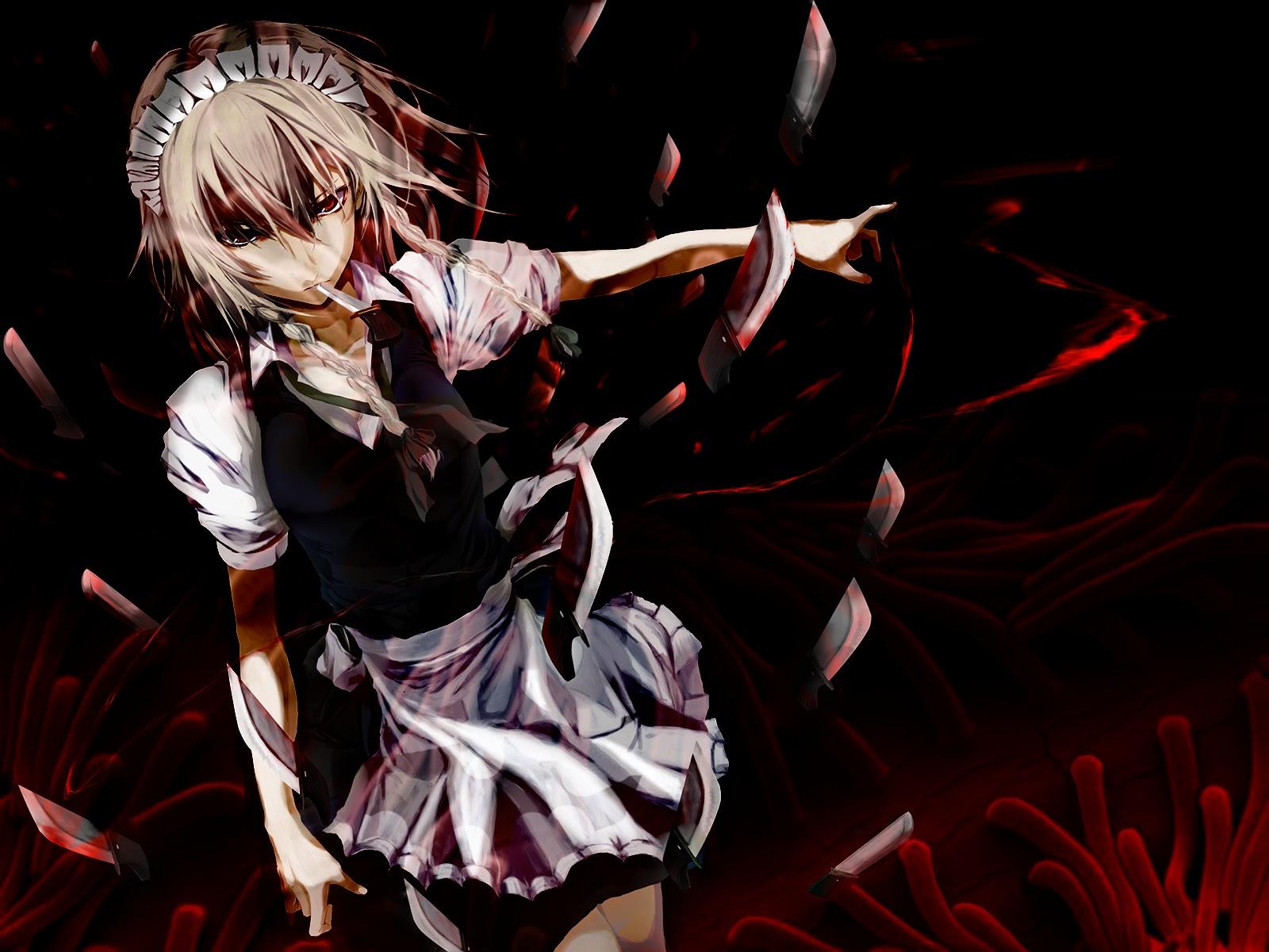 Ảnh Anime Ác Quỷ đáng sợ