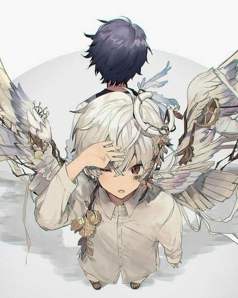 Ảnh anime boy thiên thần dễ thương