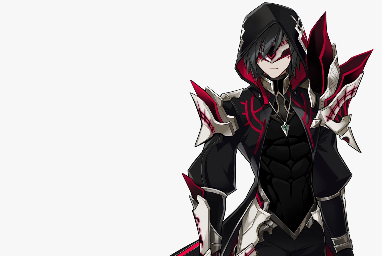 Ảnh anime boy tóc đen lạnh lùng