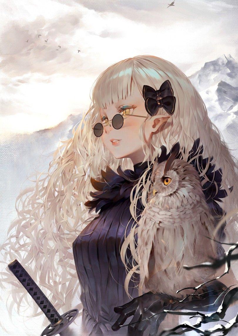 Ảnh Anime đeo kính ngầu
