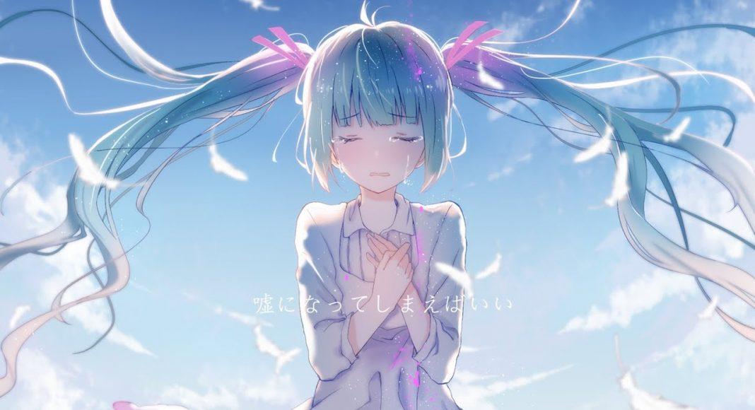 Ảnh Anime girl buồn, cô đơn