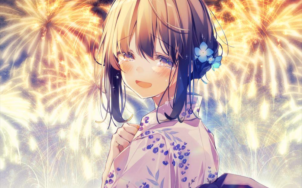 Ảnh Anime khóc, buồn đẹp