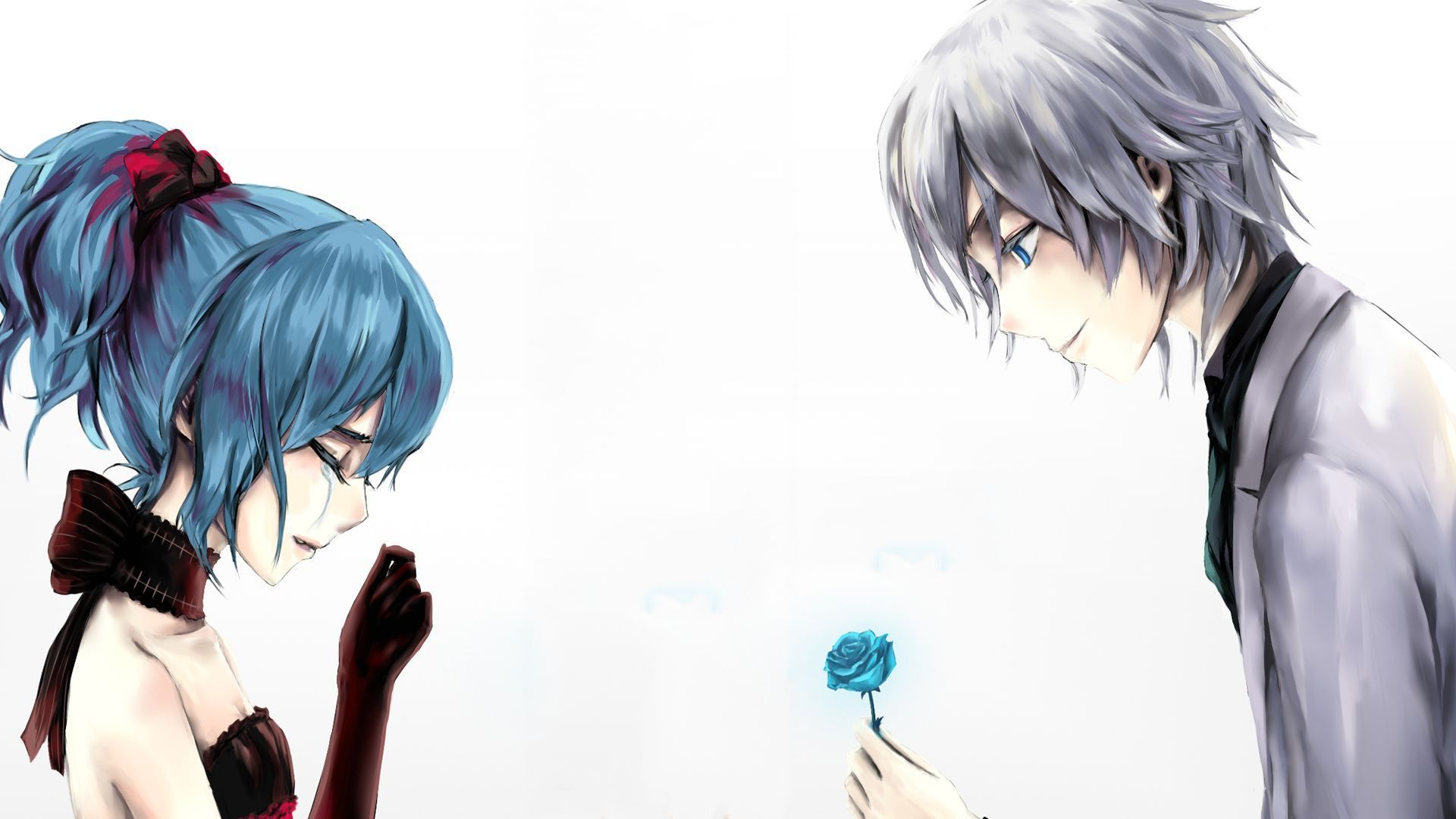 Ảnh Anime khóc xúc động