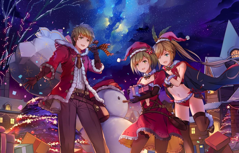 Ảnh anime mùa đông đẹp và dễ thương