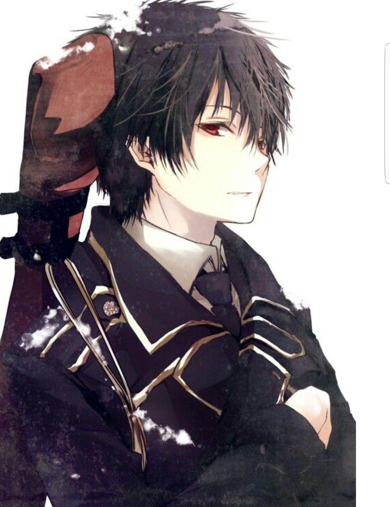 Ảnh anime nam tóc đen
