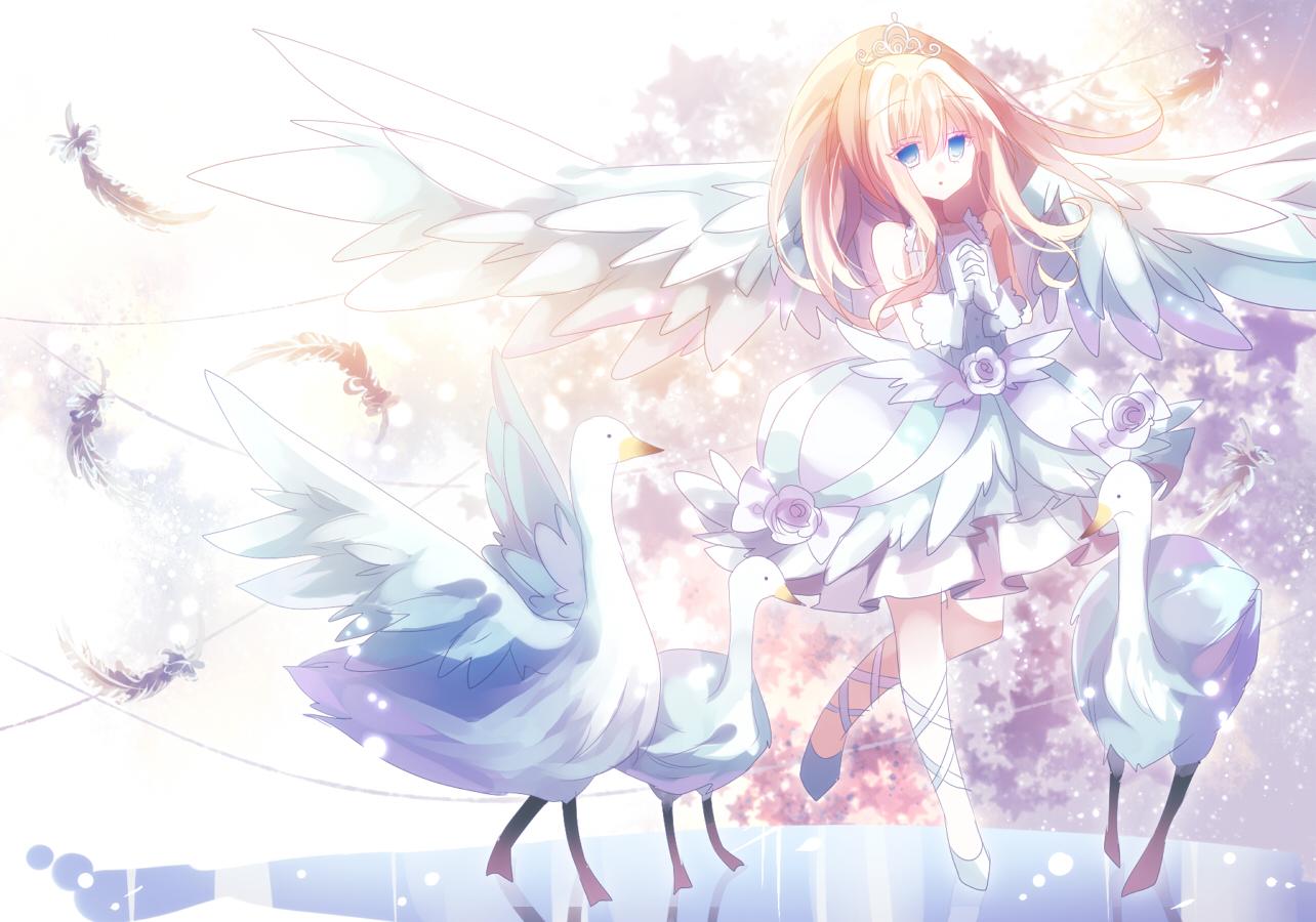 Ảnh Anime thiên thần dễ thương, đẹp nhất