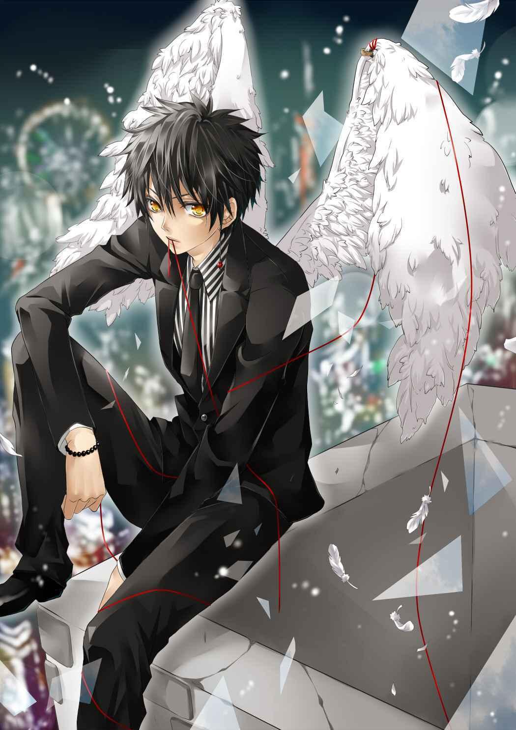 Ảnh anime thiên thần nam đẹp trai