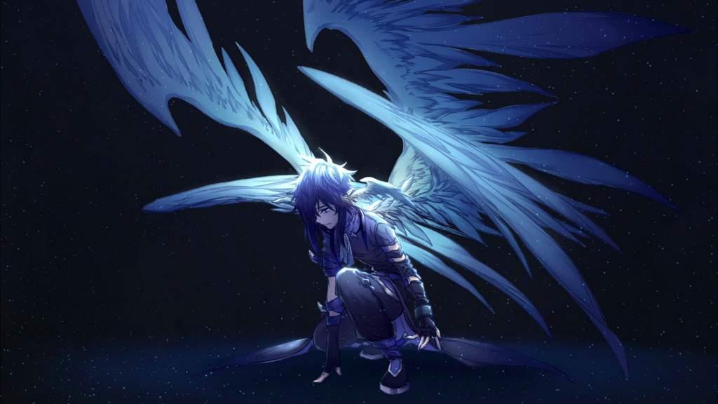 Ảnh Anime thiên thần nam đẹp