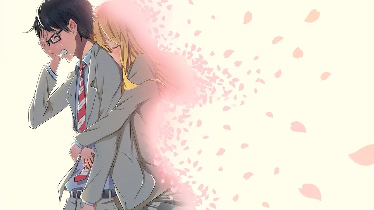 Ảnh Anime về tình yêu buồn, khóc, đau khổ
