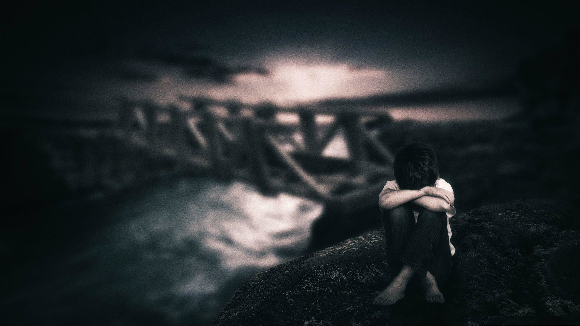 Ảnh con trai cô đơn buồn, khóc đẹp nhất
