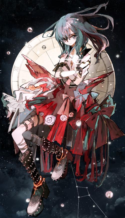 Ảnh cung Cự Giải anime đẹp nhất