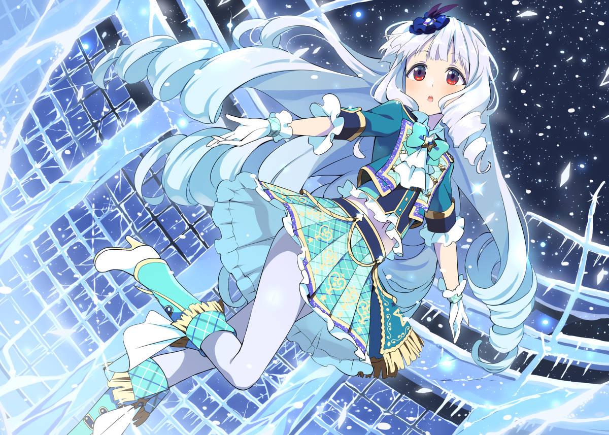 Ảnh girl anime mùa đông đẹp