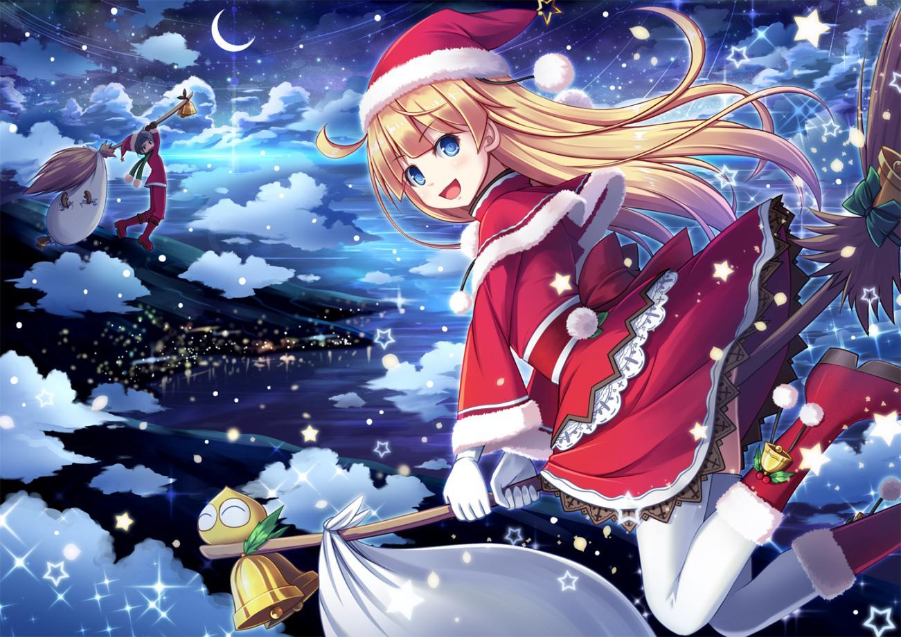 Ảnh mùa đông anime đẹp nhất