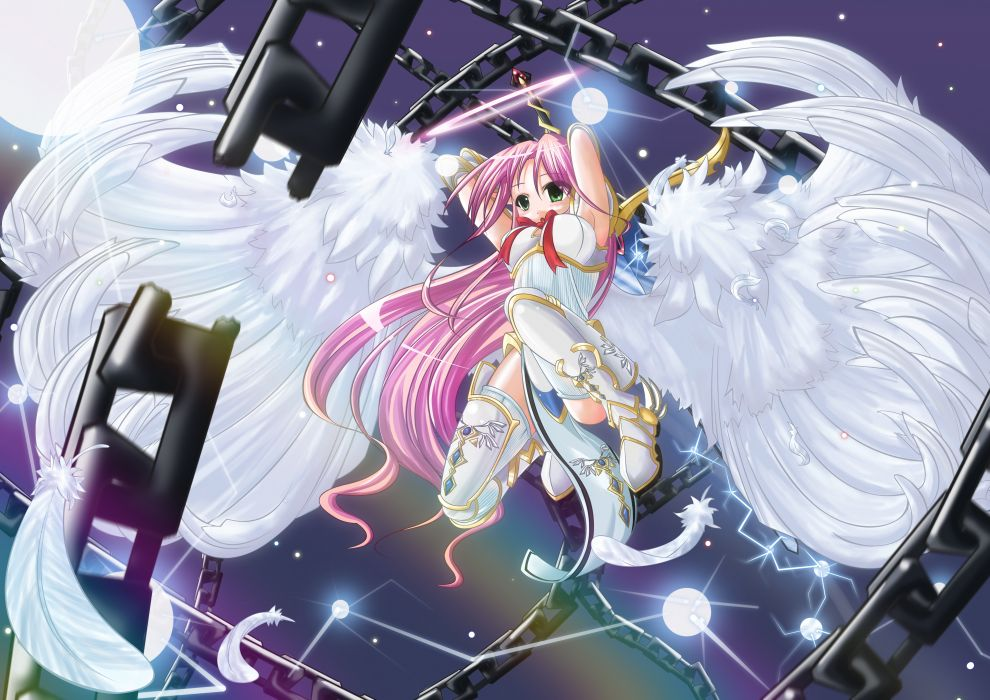 Ảnh thiên thần anime chiến đấu