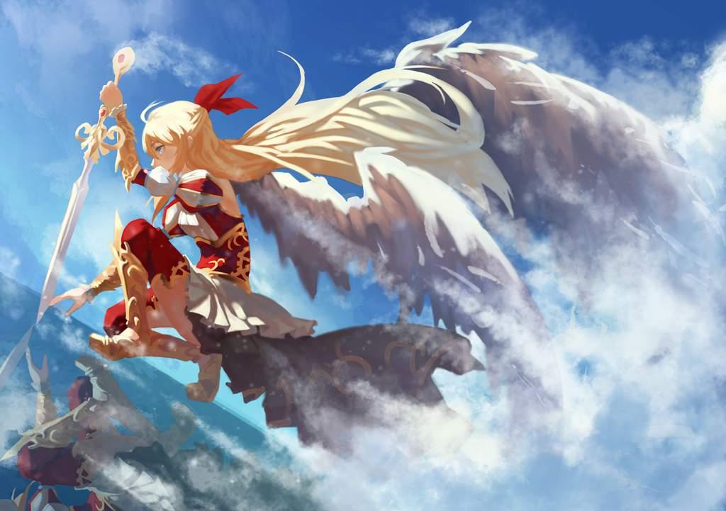 Ảnh thiên thần anime