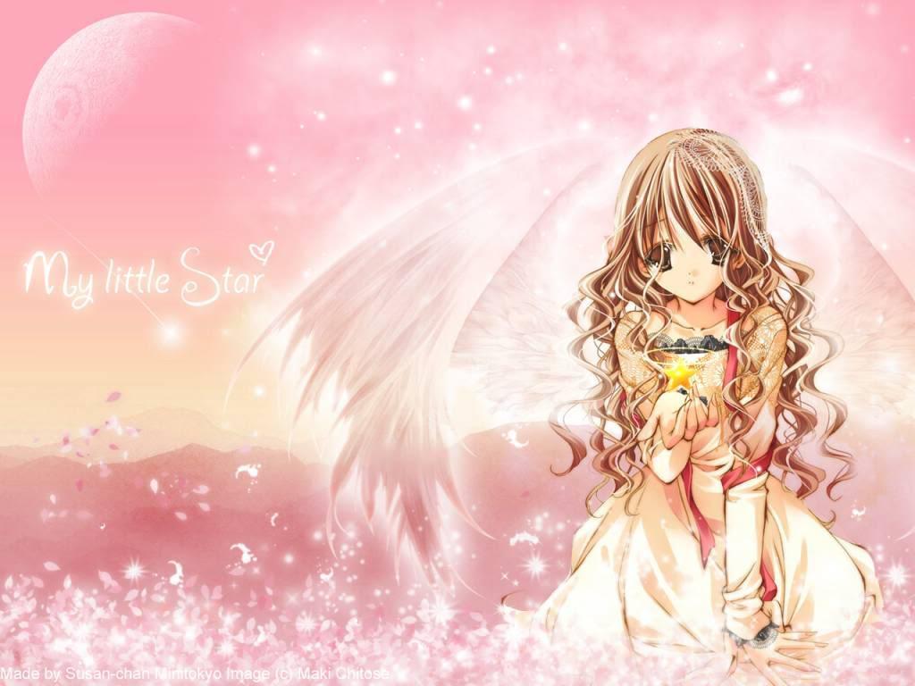 Ảnh thiên thần nhỏ anime đẹp