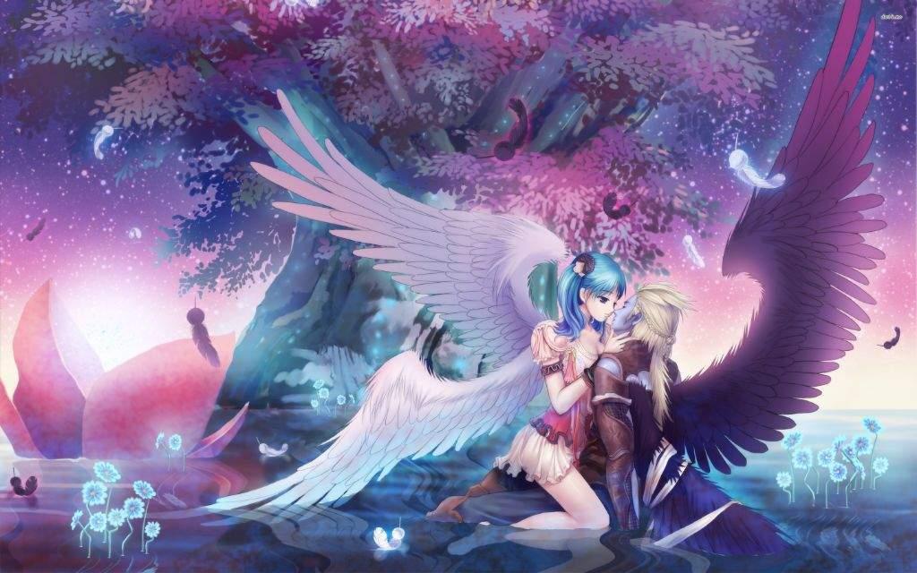 Ảnh thiên thần yêu ác quỷ anime đẹp nhất