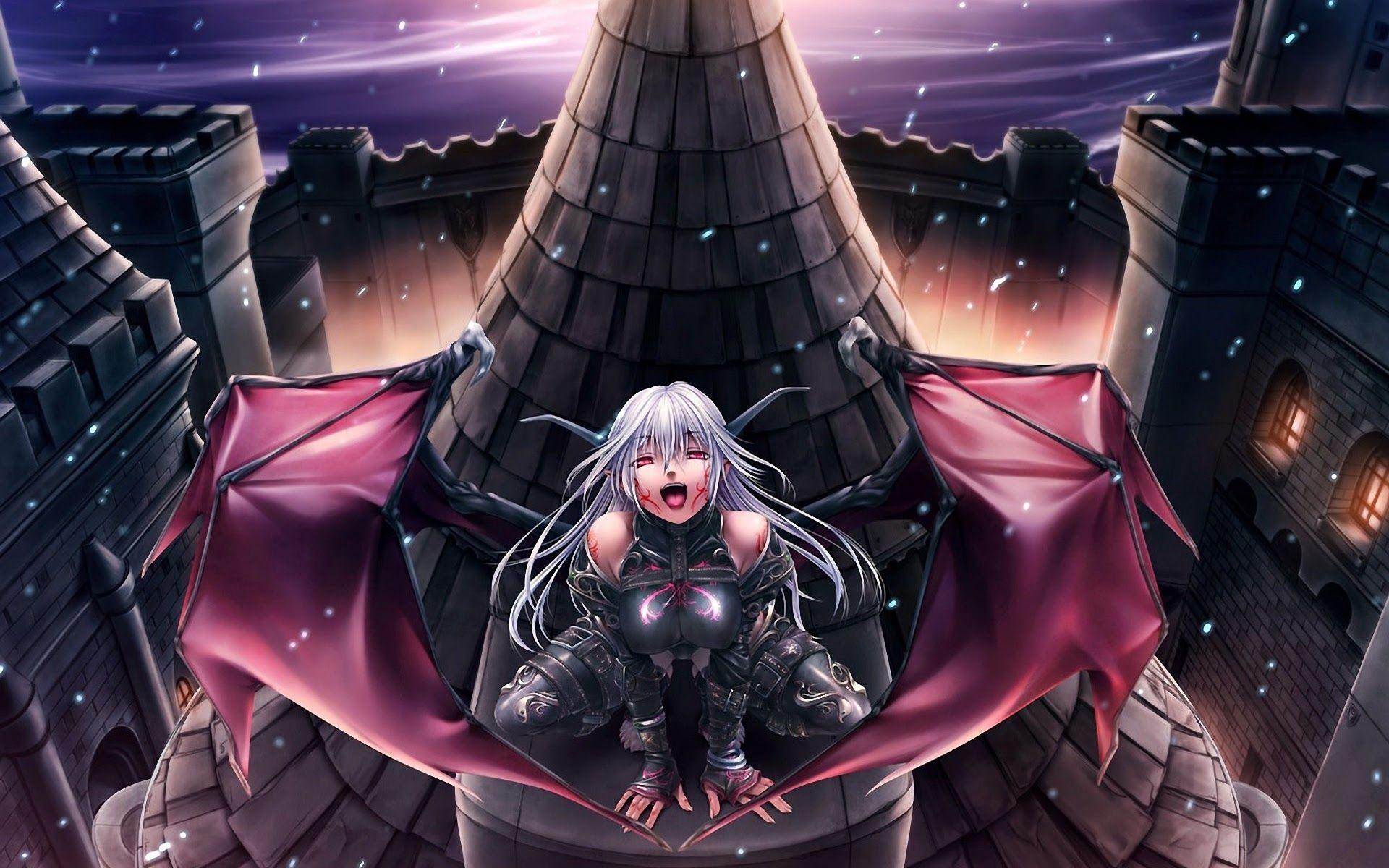 Anime Demon Girl