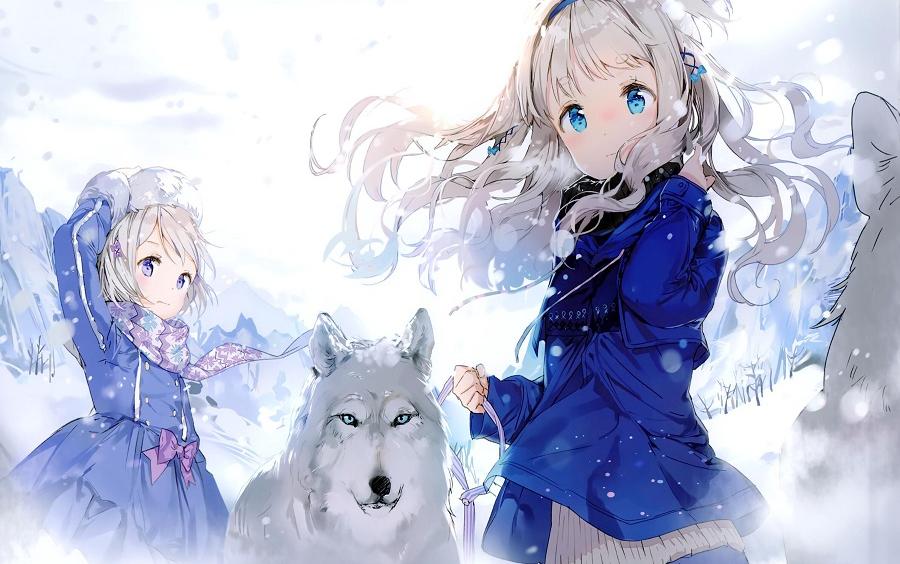 Anime mùa đông đẹp, dễ thương nhất