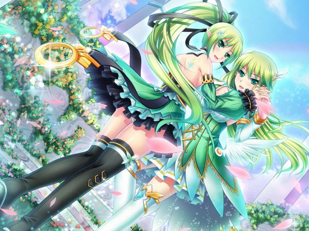 Anime nữ tóc xanh lá đẹp nhất