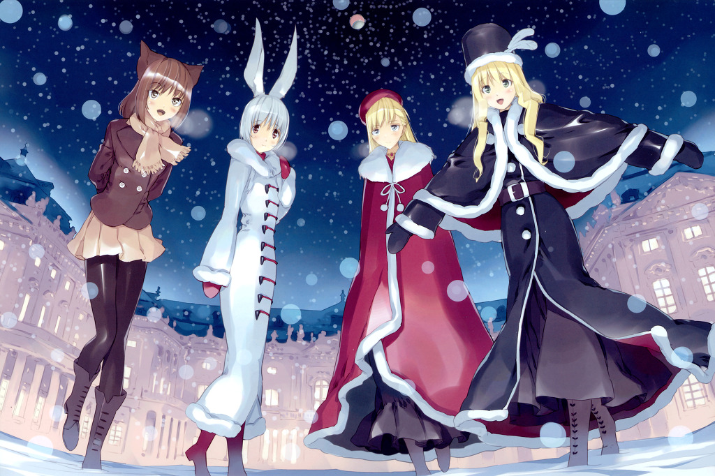 Anime winter images
