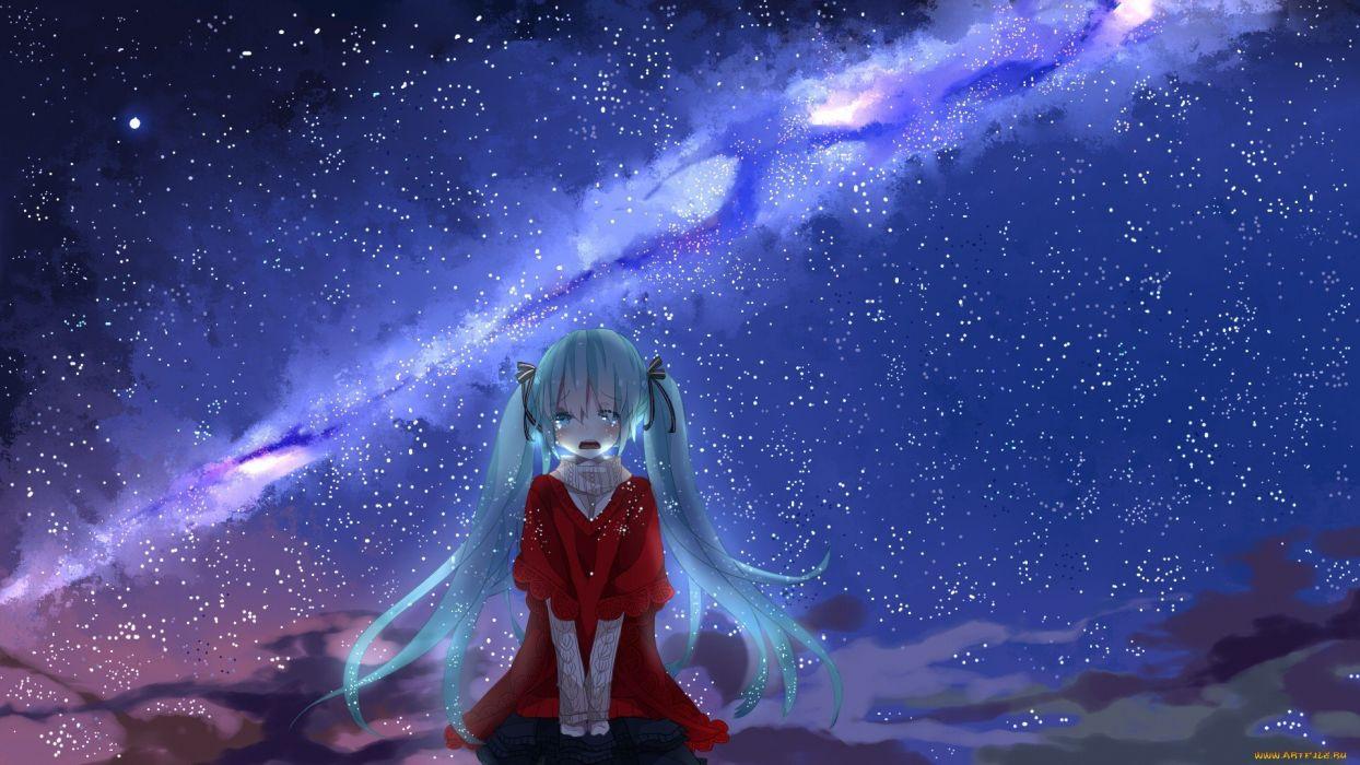 Cry Anime Girl Cute