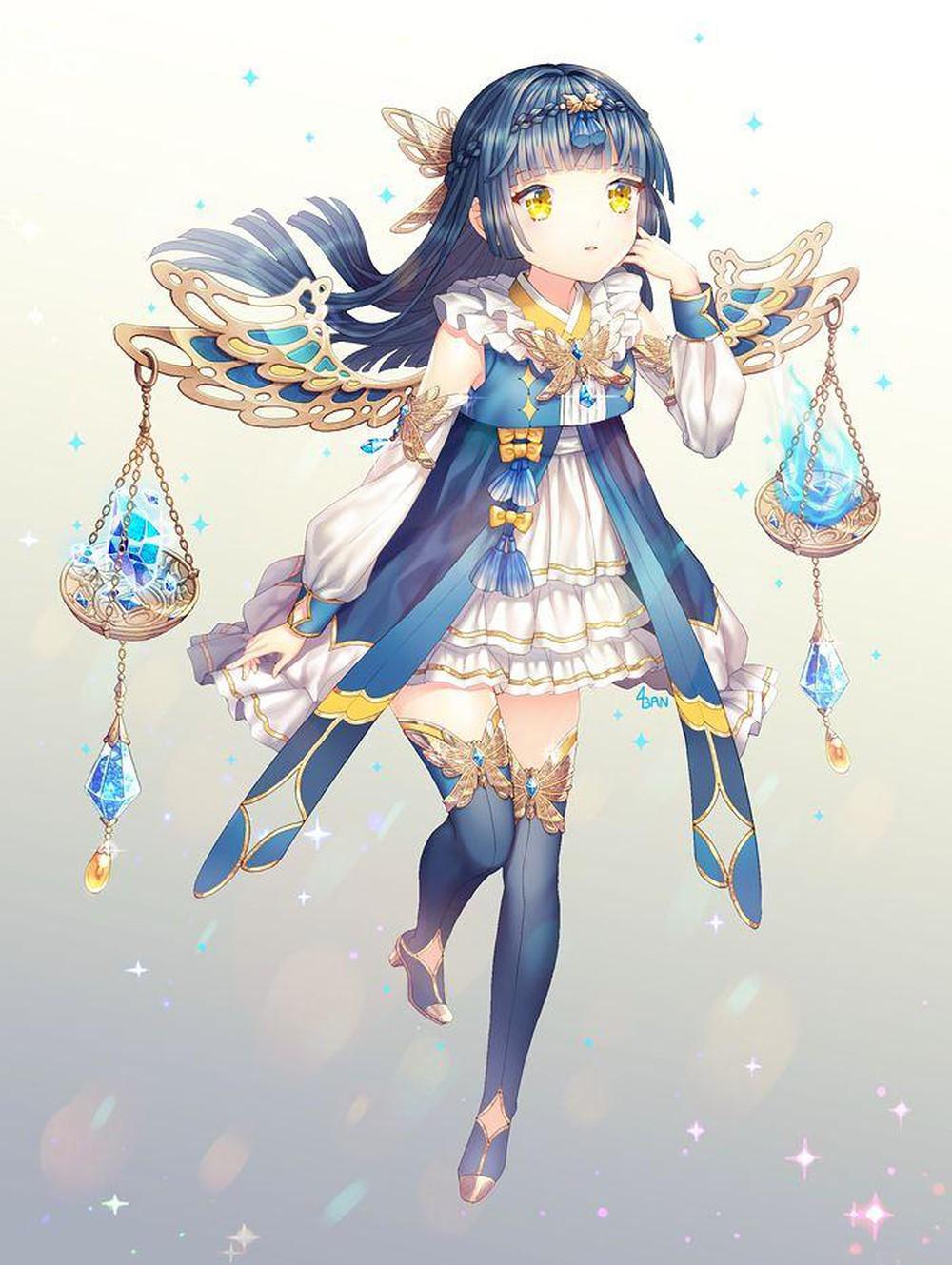 Cung Thiên Bình anime đẹp nhất