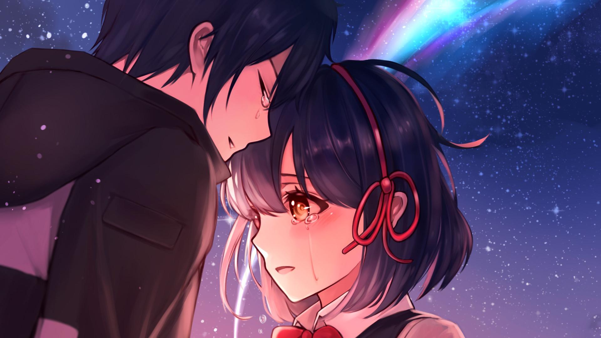 Hình ảnh Anime buồn cô đơn khóc sâu lắng nhất