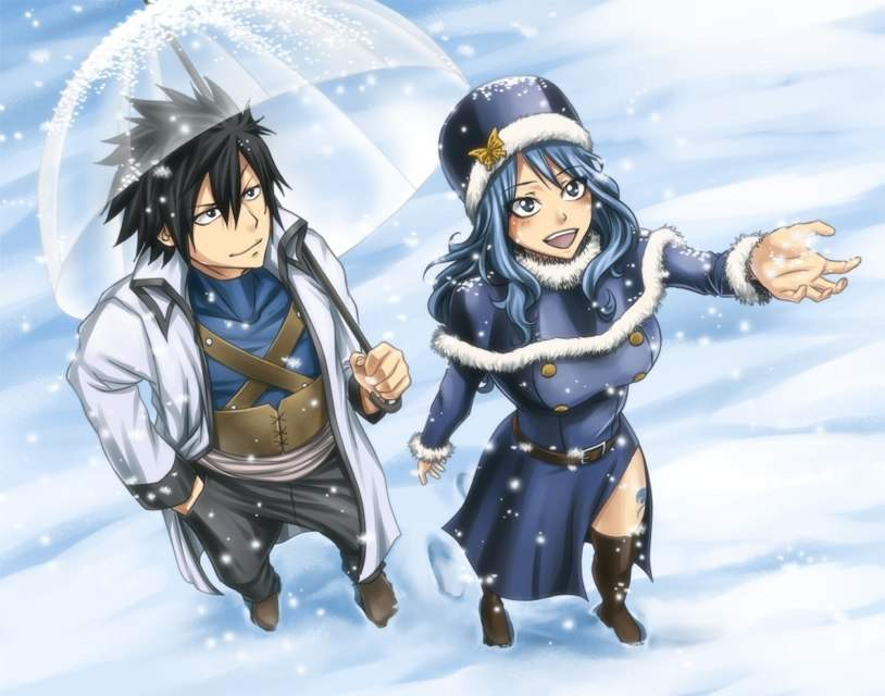 Hình anh anime mùa đông tuyết rơi