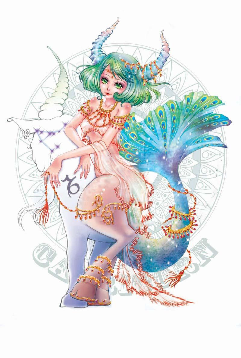 Hình ảnh cung Ma Kết anime đẹp nhất