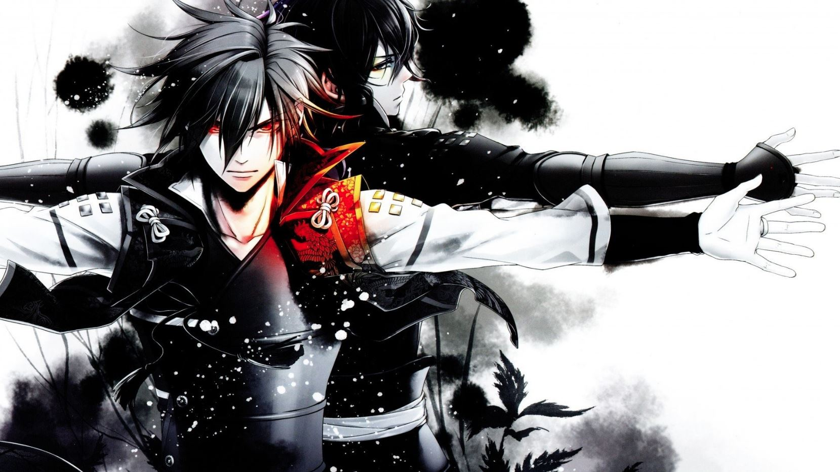 Hình anime boy tóc đen lạnh lùng, siêu ngầu