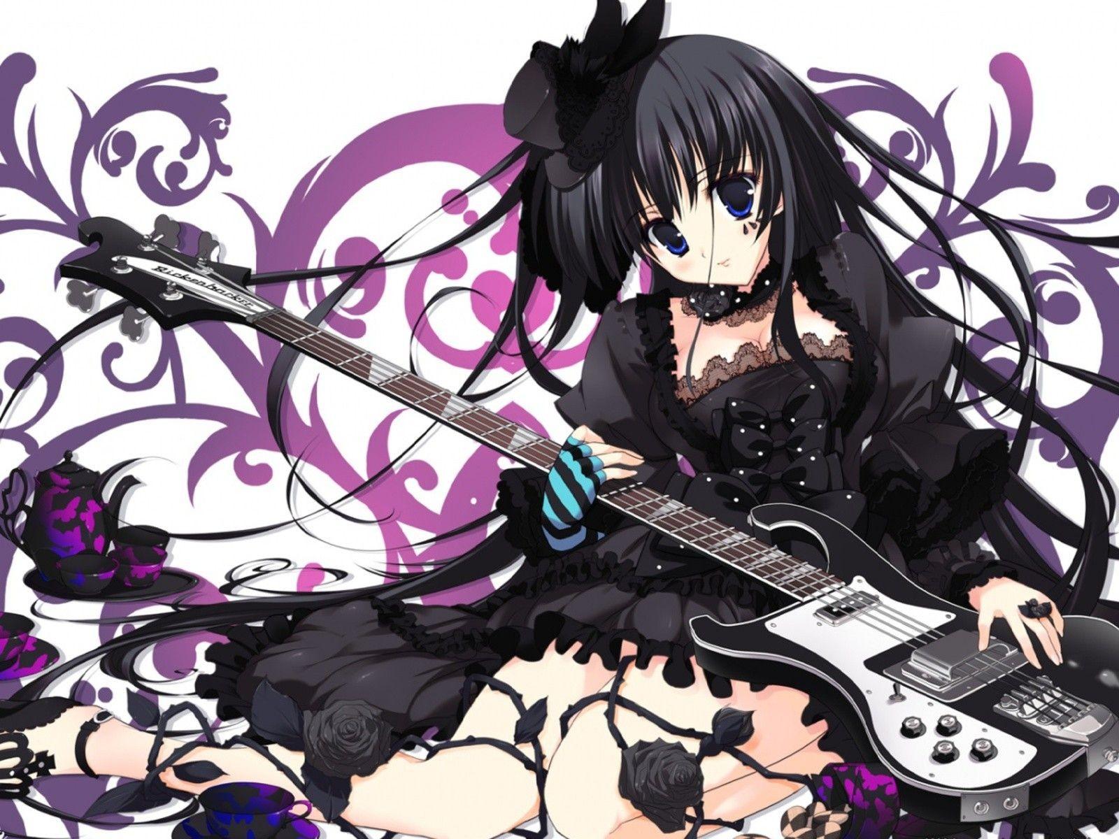 Hình anime tóc đen đẹp