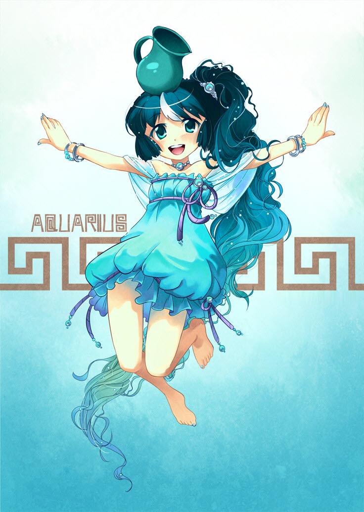 Hình cung Bảo Bình anime