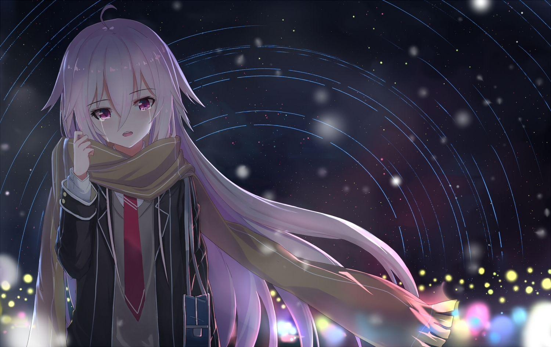 Hình Girl Anime khóc
