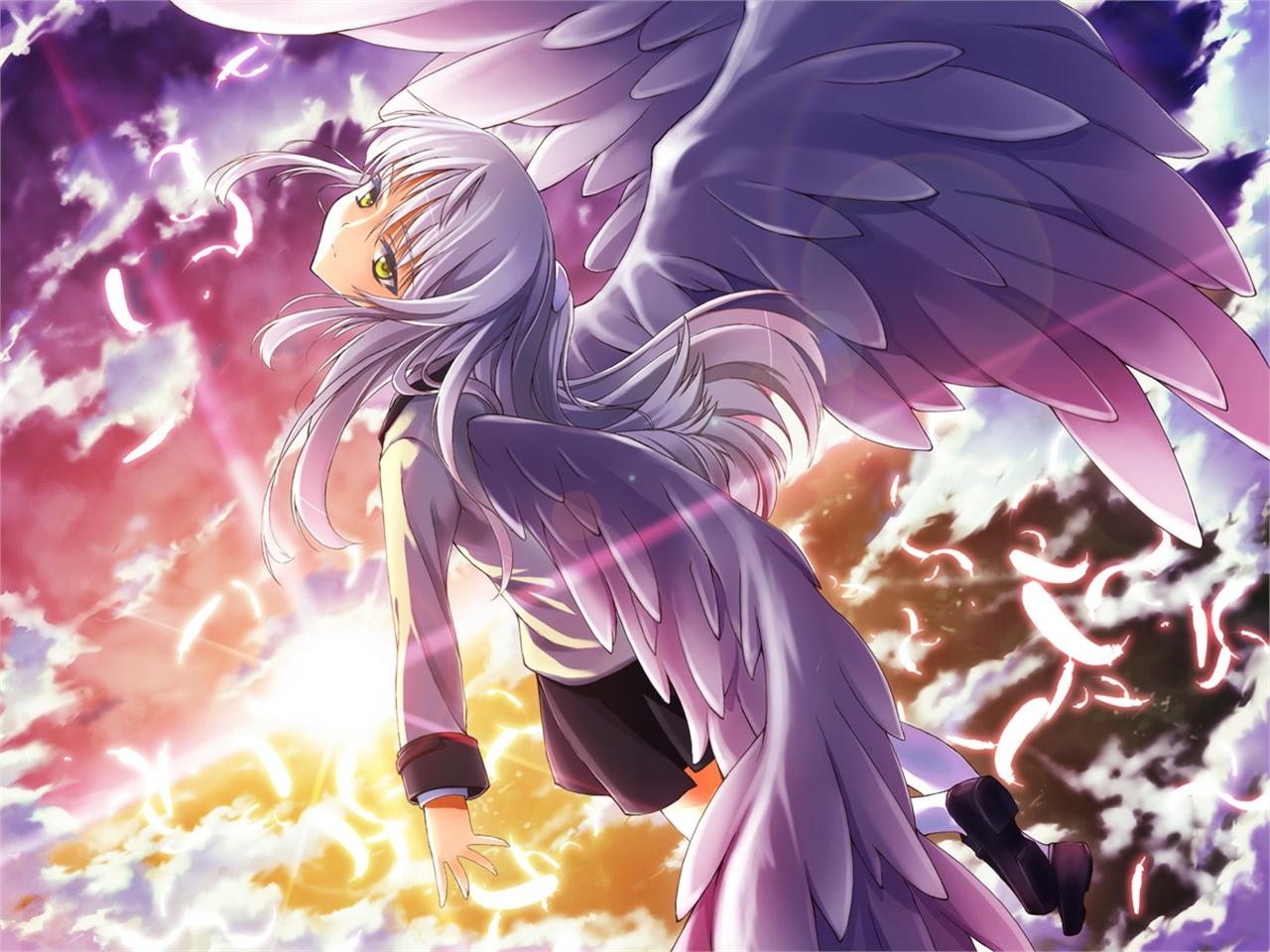 Hình thiên thần anime đẹp