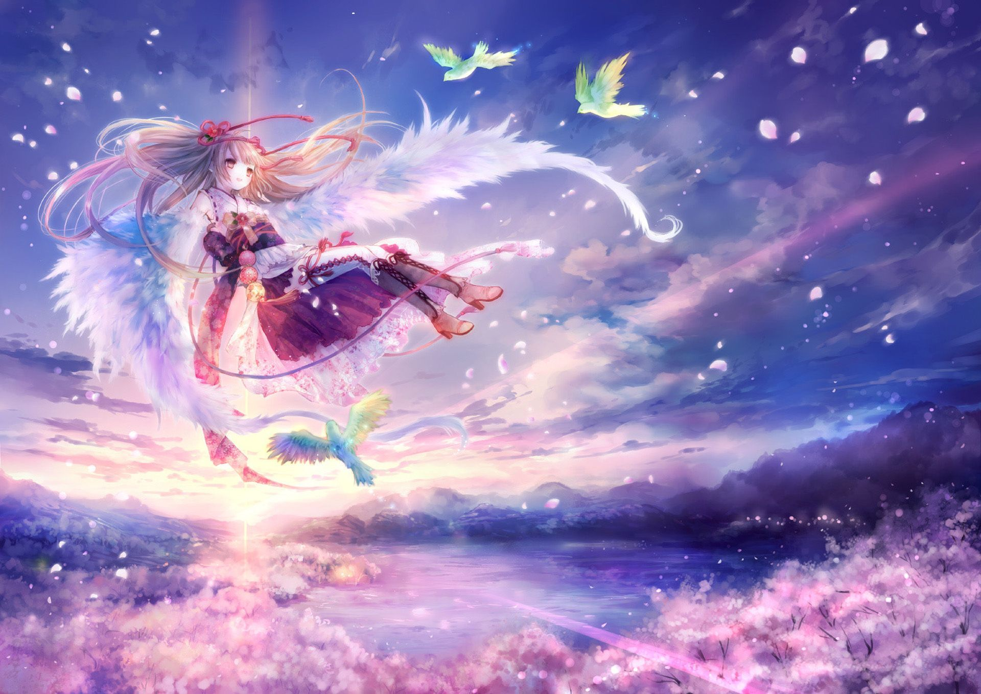 Hình thiên thần có cánh đẹp nhất