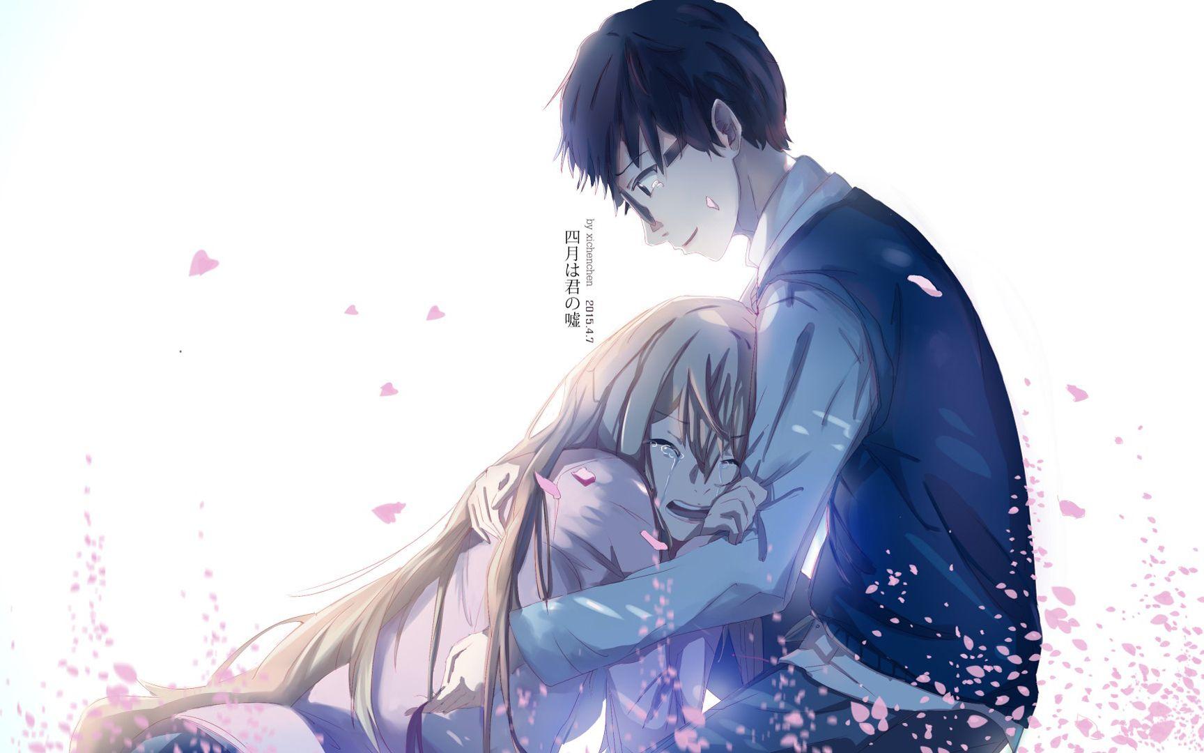 Khung cảnh hoa anh đào đẹp đến nao lòng trong anime