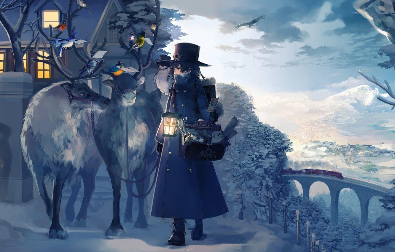 Mùa đông trong anime