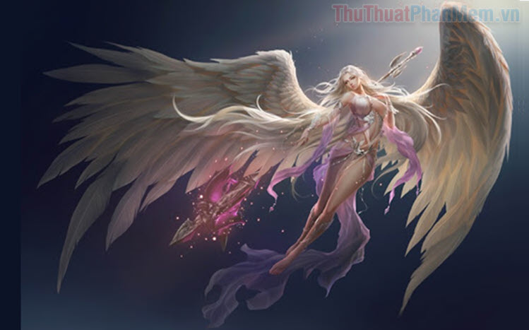 Những hình ảnh Anime thiên thần đẹp nhất